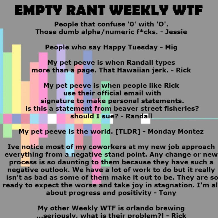 weekly wtf 2